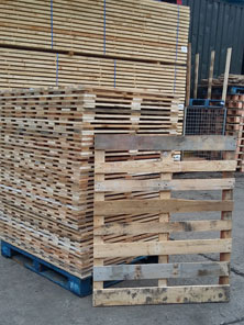Reclaimed Wooden Pallets