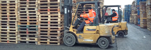 Direct Pallet Services - Reconditioned Wooden Pallets Burford, Tenbury Wells, Worcestershire